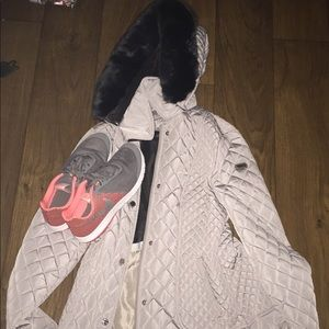 Calvin Klein (small) & Nike tennis shoes (size 9)